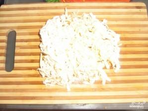 Суп с сыром и грибами - фото шаг 6