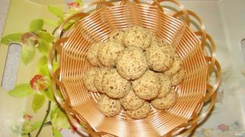 Постное печенье с орехами - фото шаг 4