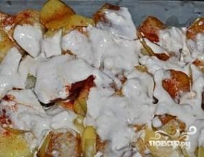 Минтай с картошкой - фото шаг 5