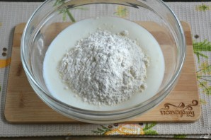 Тесто для хачапури на кефире - фото шаг 4