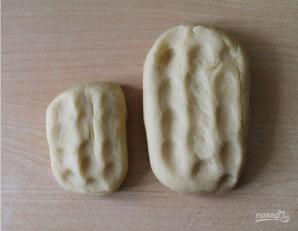 Песочное тесто на печенье - фото шаг 3