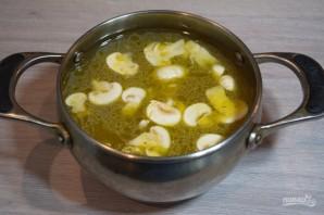 Куриный суп с лапшой в азиатском стиле - фото шаг 7
