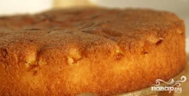 Миндальный пирог с персиками - фото шаг 6