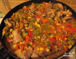 Мясо по-мексикански - фото шаг 8