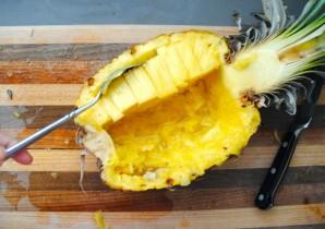 Салат из курицы с ананасом - фото шаг 2