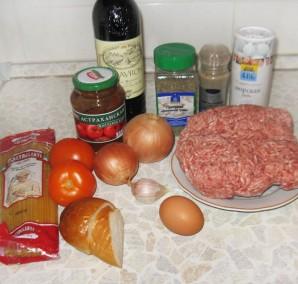 Фрикадельки в духовке с подливкой - фото шаг 1