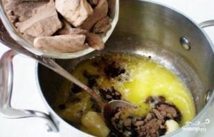 Трюфели с сухофруктами и орехами - фото шаг 1