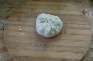 Хычины с сыром и зеленью - фото шаг 6