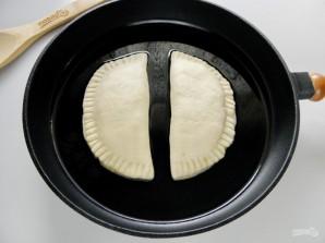 Манзари (пирожки с творогом и зеленью) - фото шаг 7