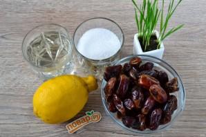 Варенье из фиников с лимоном - фото шаг 1