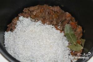 Рис с печенью в мультиварке - фото шаг 3