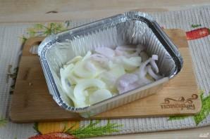 Кабачки с сыром в духовке - фото шаг 3