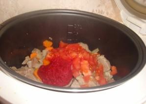 Суп из говядины в мультиварке - фото шаг 6
