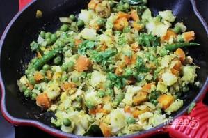 Овощные шарики в кляре - фото шаг 5
