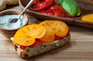 Сэндвичи с болгарским перцем - фото шаг 6