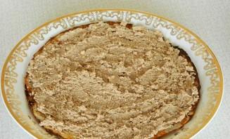 Блинный торт с печенью - фото шаг 3