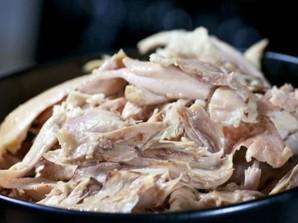 Суп с курицей и грибами   - фото шаг 10