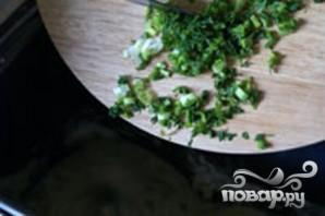 Багеты с зеленью - фото шаг 3