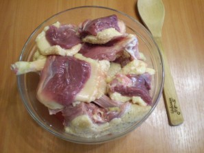 Утка в духовке с картофелем - фото шаг 2