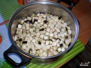 Рагу из баклажанов и кабачков - фото шаг 2