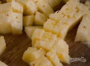 Пирог с ананасами без выпечки - фото шаг 1