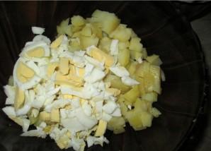 Салат в апельсиновых корзиночках - фото шаг 1
