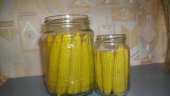 Маринованная кукуруза на зиму - фото шаг 6