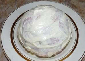 Фаршированная цветная капуста, запеченная в духовке - фото шаг 4