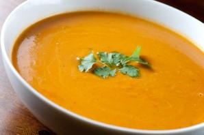 Вегетарианский тыквенный суп-пюре - фото шаг 4