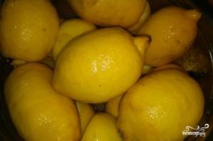 Лимонный джем с имбирем - фото шаг 1