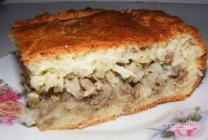 Нежнейший пирог с капустой - фото шаг 10