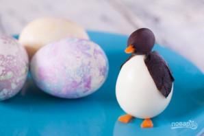 Пасхальные яйца для праздничного стола - фото шаг 4