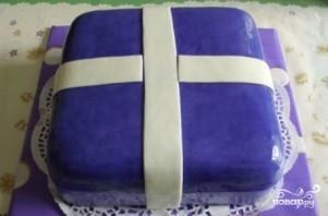 """Торт """"Подарок"""" - фото шаг 14"""