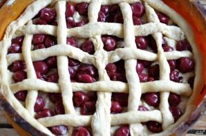 Пирог с замороженной вишней - фото шаг 7
