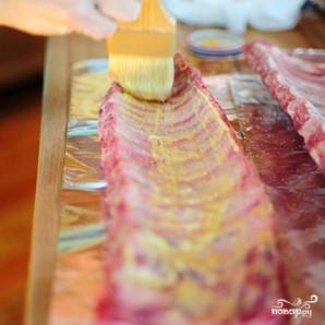 Жареные свиные ребрышки в духовке - фото шаг 3