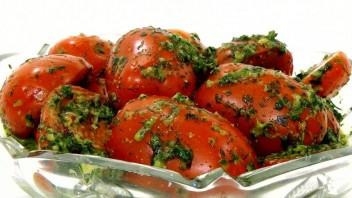 Маринованные помидоры за 12 часов - фото шаг 3