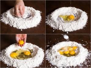 Рецепт теста для спагетти - фото шаг 2