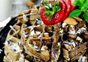 Шоколадно-кокосовые вафли - фото шаг 5