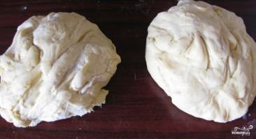 Дрожжевой пирог с капустой - фото шаг 13