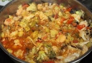 Овощное рагу с цветной капустой - фото шаг 7
