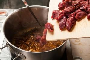Венгерский суп-гуляш из говядины - фото шаг 5