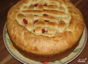 Пирог с клубникой и творогом - фото шаг 6