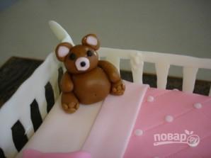 Детский торт из мастики (мастер-класс) - фото шаг 17