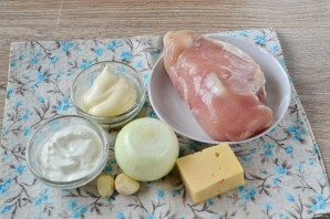 Сочное куриное филе по-французски - фото шаг 1