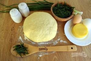 Грузинский пирог с тархуном и сыром - фото шаг 2