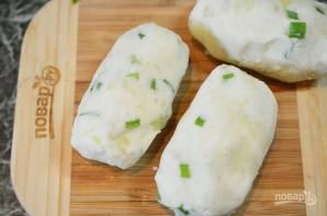 Картофельные палочки с сыром и беконом - фото шаг 5
