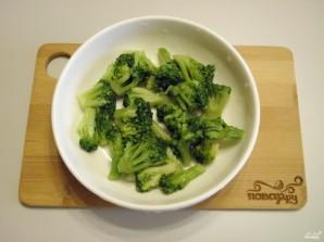 Салат с брокколи и курицей - фото шаг 4