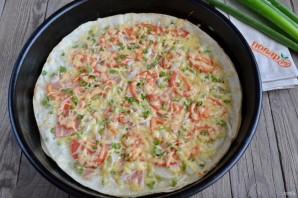 Пицца на лаваше в духовке - фото шаг 6