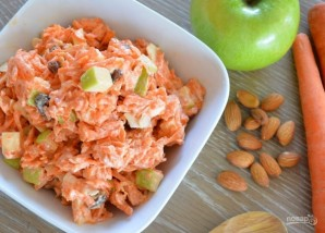 Морковно-яблочный салат - фото шаг 3