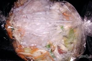 Курица, запеченная с овощами, по диете Дюкана - фото шаг 8